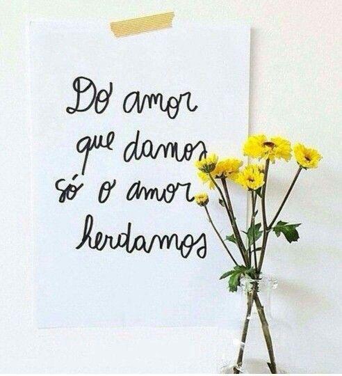 Mais amor sempre!