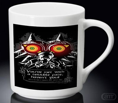 Sell Legend Of Zelda Majoras mask Quotes New Hot Mug White Mug cheap and best quality. *100% money back guarantee