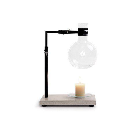 essential oil burner set / concrete