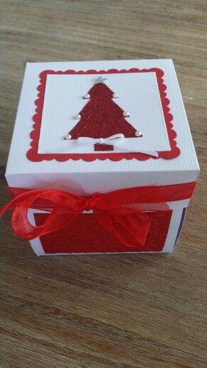 Christmas explision box