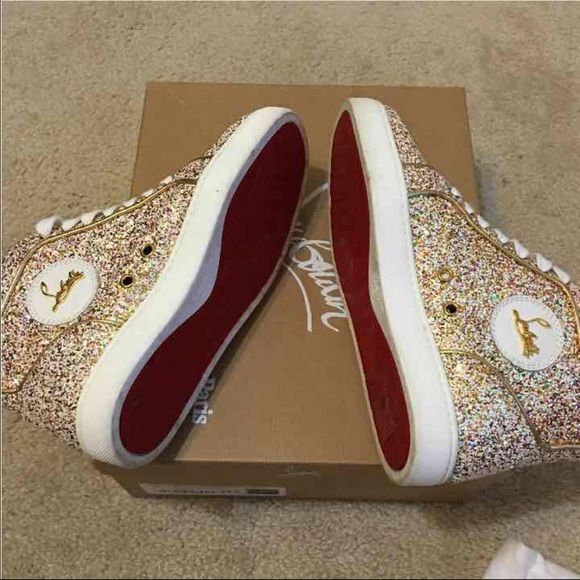 christian louboutin sneakers size 37