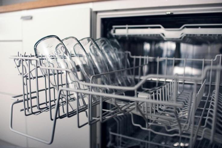 Bottles in dishwasher