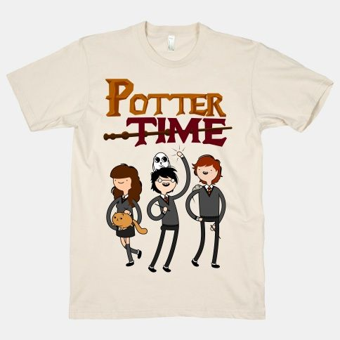 Potter Time! Come on, grab your friends, we'll go to very magical land. Hermione and Harry and also Ron Weasley, the fun will never end! It's Potter Time!