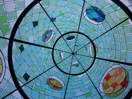 L'EcoAlbero visto dall'interno (foto Manolo Benvenuti)