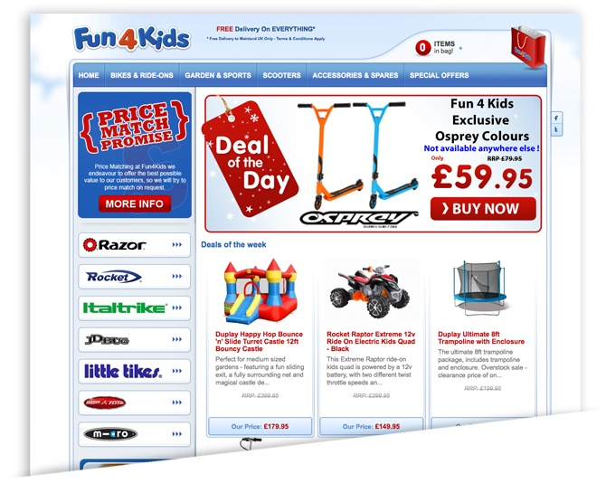 Fun4Kids Keeps Growing with Magento