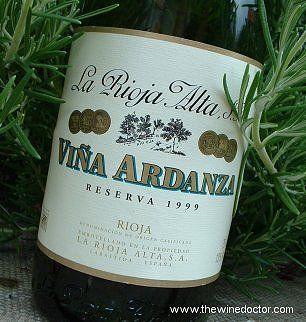 La Rioja Alta - Vina Ardanza Rioja Reserva.