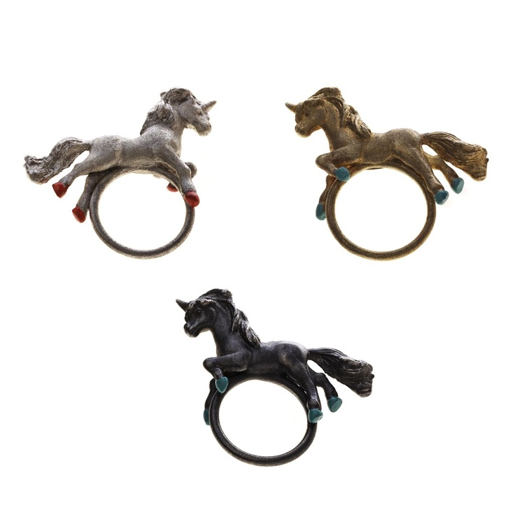 Unicorn Rings - Lei Foo... Playful yet elegant designer jewelry