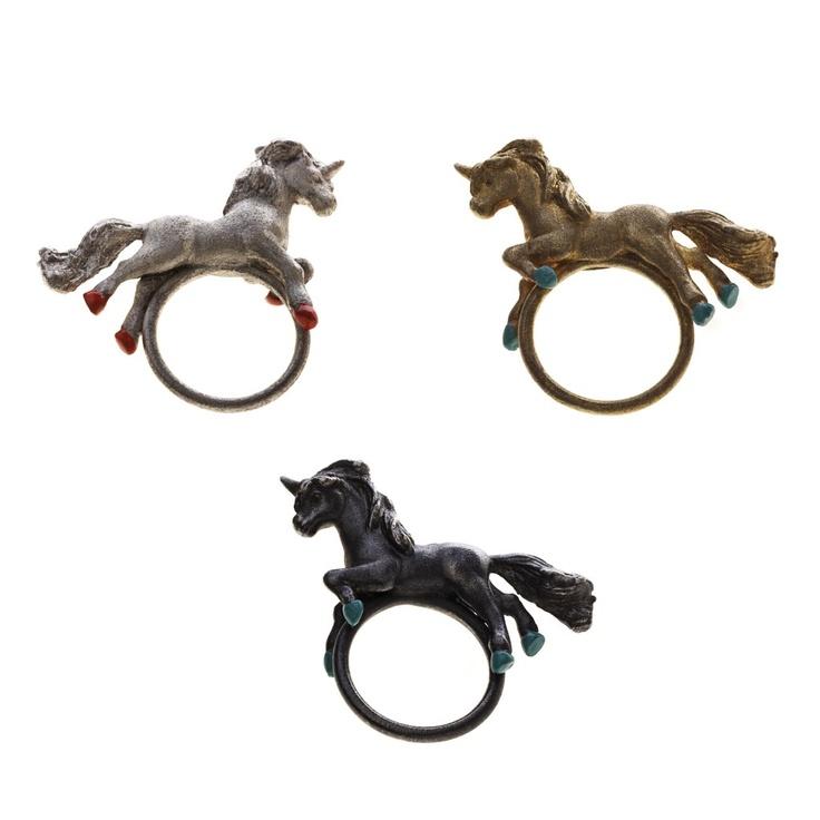 Unicorn Rings - Lei Foo... Playful yet elegant designer jewelry