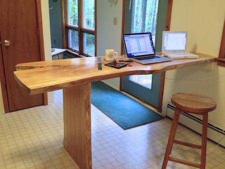 Homemade Desks 20 best homemade desks images on pinterest | wood slab, homemade