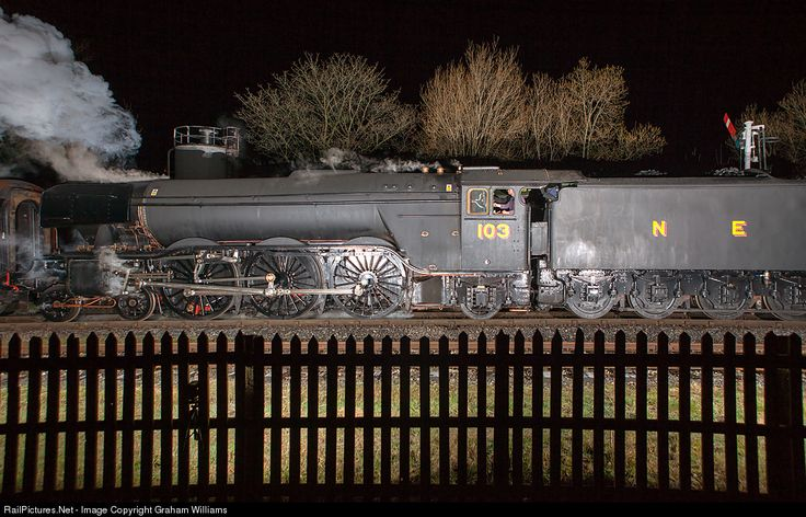 RailPictures.Net Photo: 103 London and North Eastern Railway Steam 4-6-2 at Ramsbottom, United Kingdom by Graham Williams