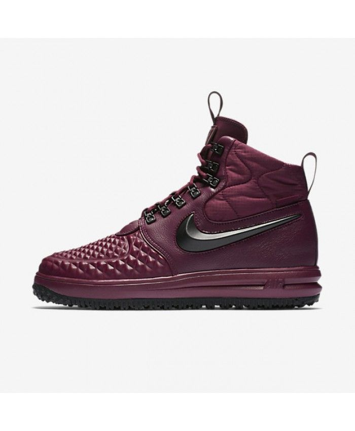the latest f7dcf a840a Nike Lunar Force 1 Duckboot  17 Bordeaux Gum Light Brown Black 916682-601