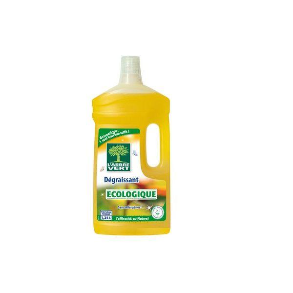 Nettoyant écologique dégraissant - 1,25 L  - L'arbre vert