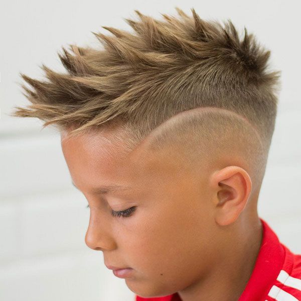 13+ Mohawk haircut for kids ideas
