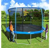 Sportspower 13-ft. Trampoline with Electronic Target Game
