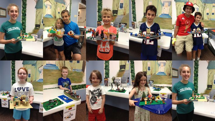 Check out these awesome creations at our July 5 Let's Go Lego! Visit wrightlibrary.org to find upcoming Let's Go Lego dates!