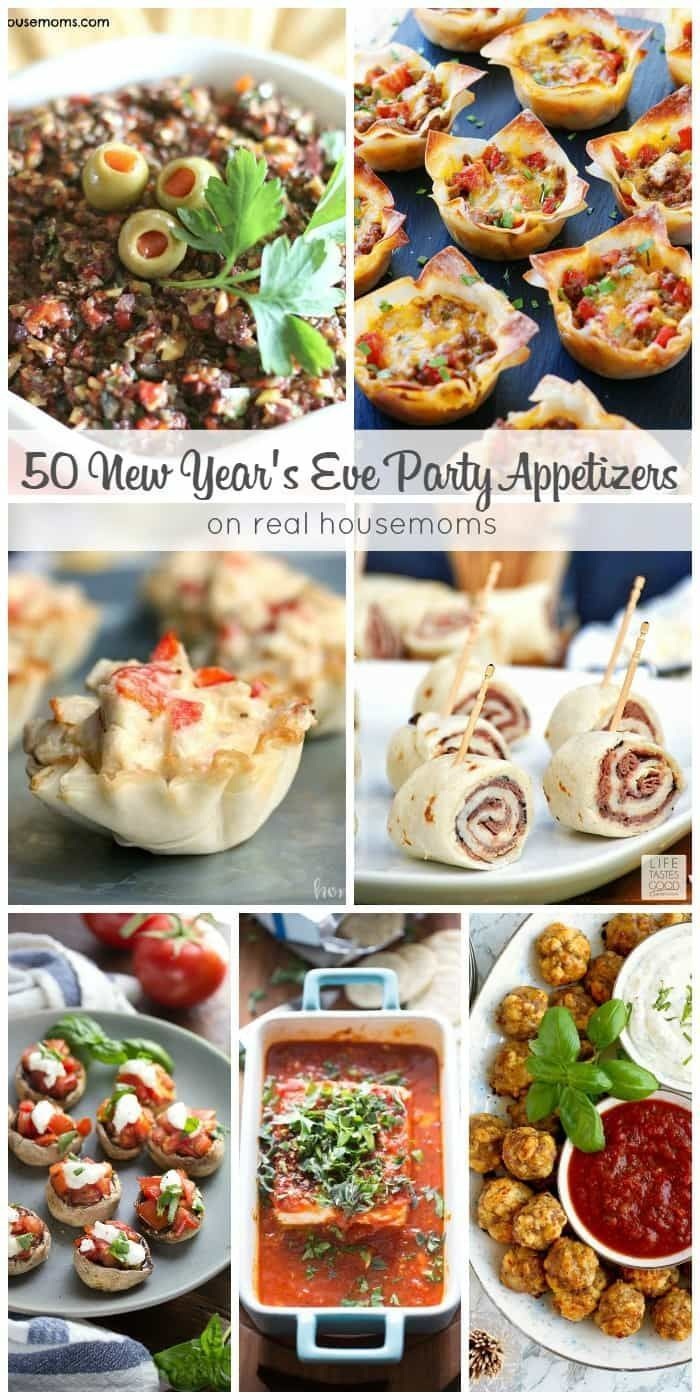 50 New Year S Eve Party Appetizers Appetizers For Party Vegetarian New Years Eve Dinner New Years Eve Snacks