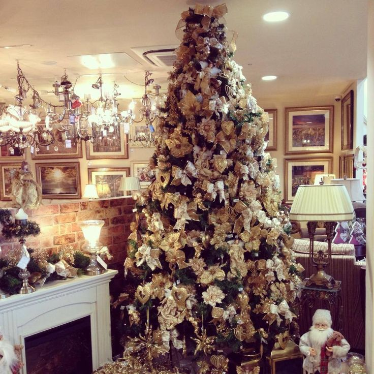 Our fabulous 10ft Christmas tree | Christmas at Alana | Pinterest
