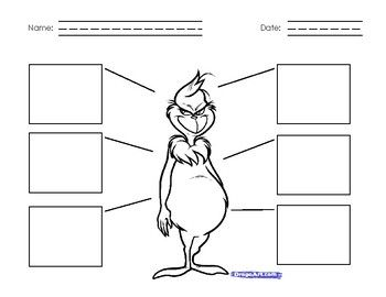 """Grinch Character Traits: Students can identify character traits for the Grinch after reading """"How the Grinch Stole Christmas""""."""