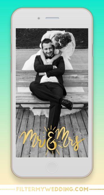 Free Wedding Snapchat Filter || FREE FILTER FRI-YAY!
