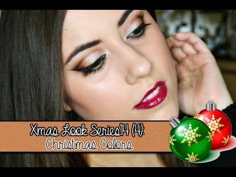MÁS INFO: http://www.jennifermakeupglam.com/2014/12/xmas-look-series14-4-look-christmas.html