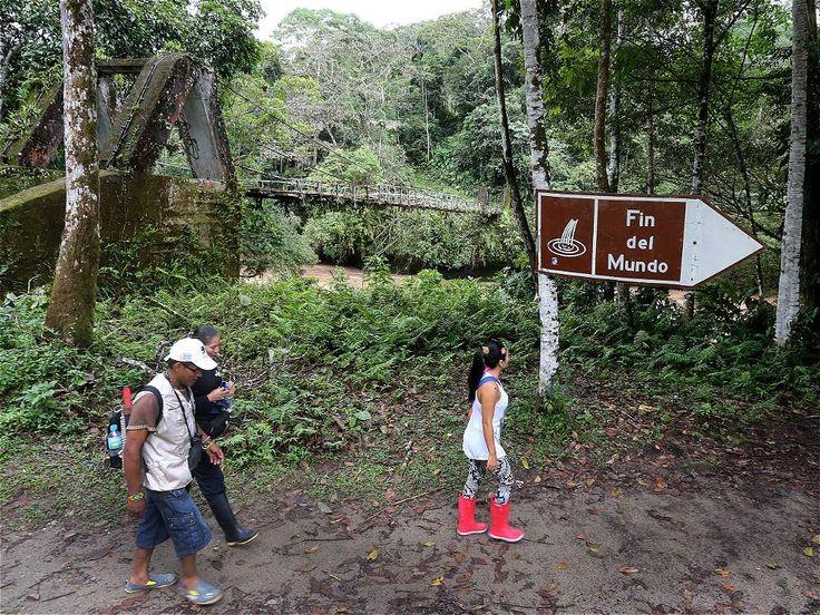 El acceso al Fin del Mundo está en la vía que comunica a Villagarzón con Mocoa.