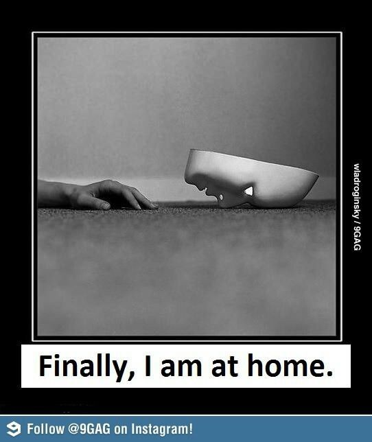 So true! At home alone is the only time I cam take the mask off!