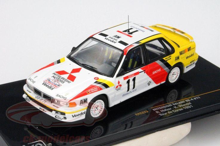 Mitsubishi Galant VR-4 Evo, Tour de Course 1991, No.11, R.Holzer / K.Wendel. Ixo, 1/43. Price (2016): 13 EUR.