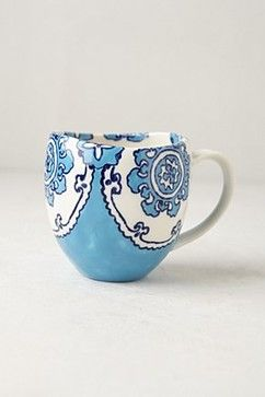 Gloriosa Mug - eclectic - cups and glassware - Anthropologie for my morning kitchen/coffee bar