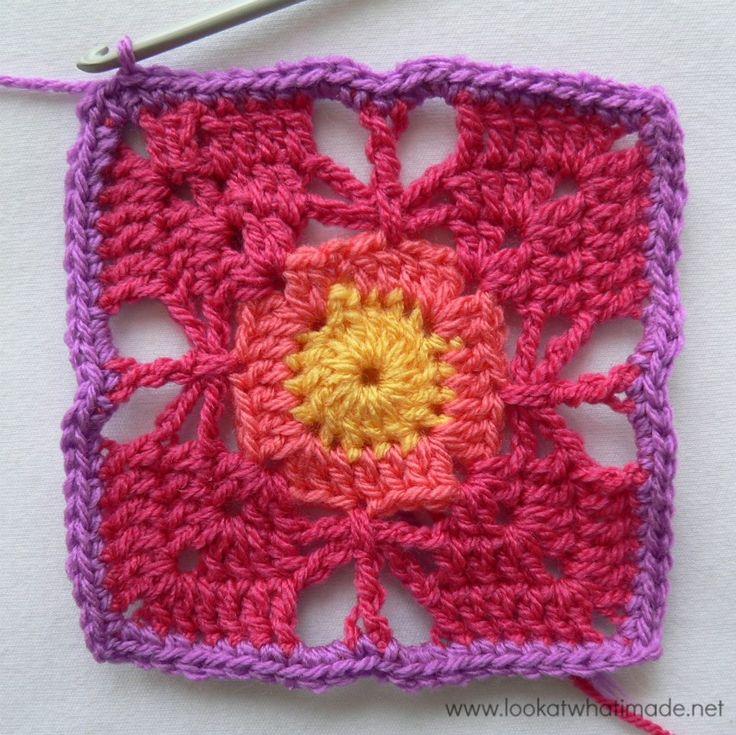 78 besten A Wool crochet Fleckerl Bilder auf Pinterest | Stricken ...