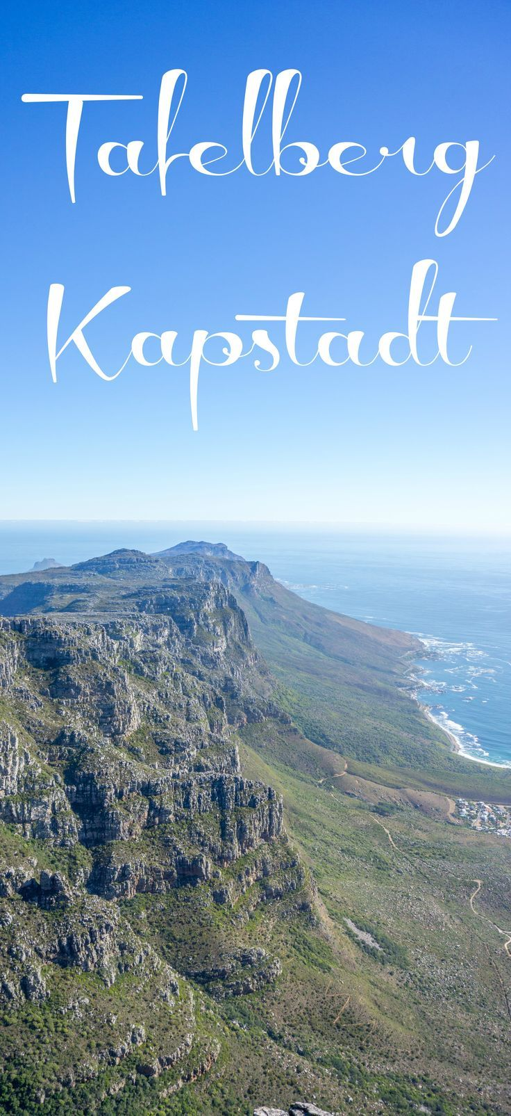 Der Tafelberg in Kapstadt zählt zu den beliebtesten Sehenswürdigkeiten in Südafrika. Kein Wunder, die Aussicht von hier oben ist der pure Wahnsinn!