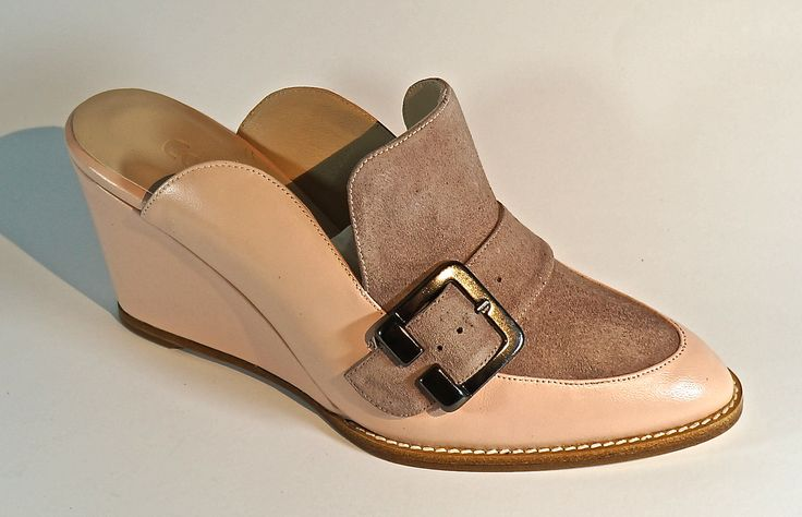 Hand Made Leather Footwear. Lamb's Leather with Buff. LM-005C
