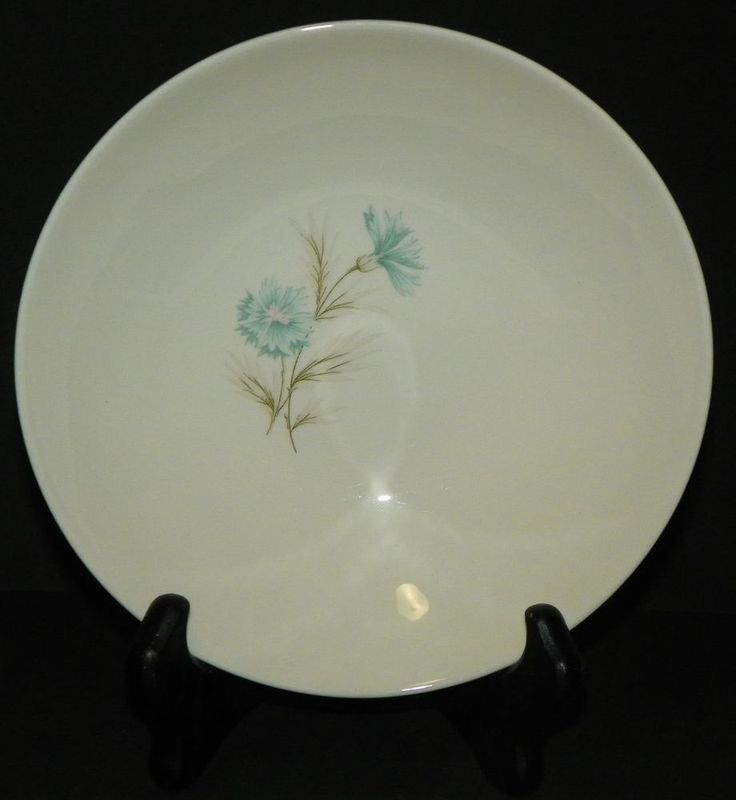 Taylor Smith Taylor Ever Yours Boutonniere 9 Inch Serving Bowl MCM Retro #TaylorSmithTaylor #MidCenturyModern