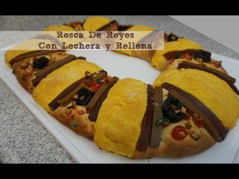 Una rosca tradicional con un toque súper especial, ¡un relleno de crema y chocolate, y endulzada con La Lechera!