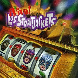 Los Straightjackets have a great schtick, and usually great album covers as well.