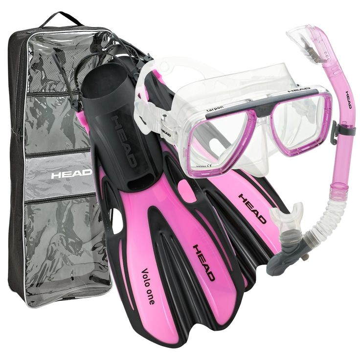 Scuba...think pink: Head Mask Fin Snorkel Set