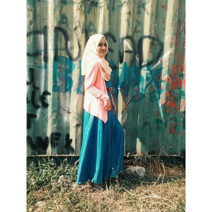 I love all the way about life that Allah show to me..keep fight #ootdhijab #ootd