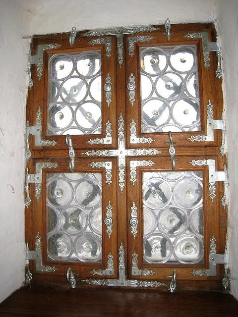 Loket, Czech Republic. Window Detail