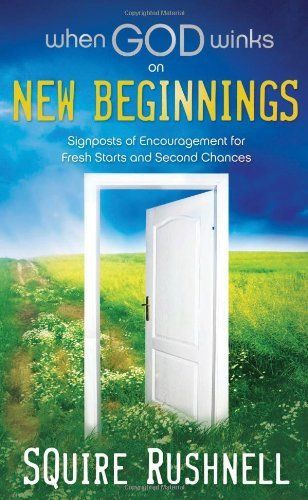When God Winks on New Beginnings: Signposts of Encouragement for Fresh Starts and Second Chances by Squire Rushnell, http://www.amazon.com/dp/1404186964/ref=cm_sw_r_pi_dp_F6lKpb1G1QK2V