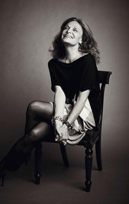 Better Not Younger: Diane Von Furstenberg - Vicki Archer