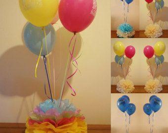 Boda babyshower fiesta bautizo pesos globo mesa por Ohsopretty37