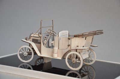 Balsa Manufaktur: Ford Model T Touring 1908