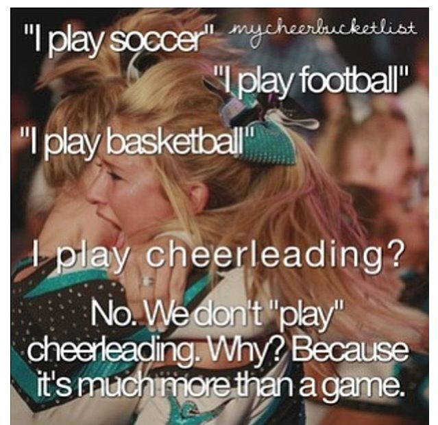 Cheerleading quotes