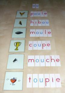 Montessori, dictées muettes...