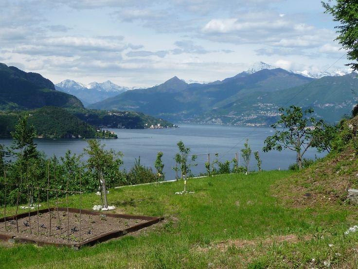 Monte Legnone from Lezzeno