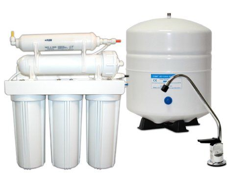 50 Gallon Per Day 5-Stage Home Reverse Osmosis Drinking Water System - Amazon.com