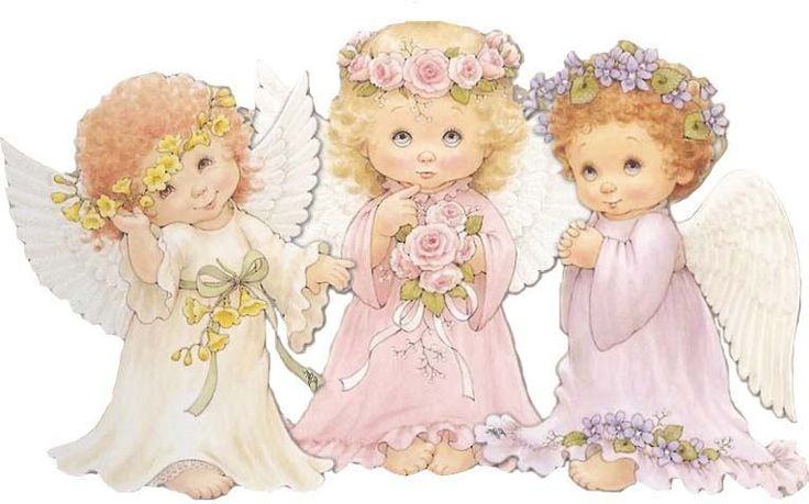 Ангелочки для крестин картинки, рождество