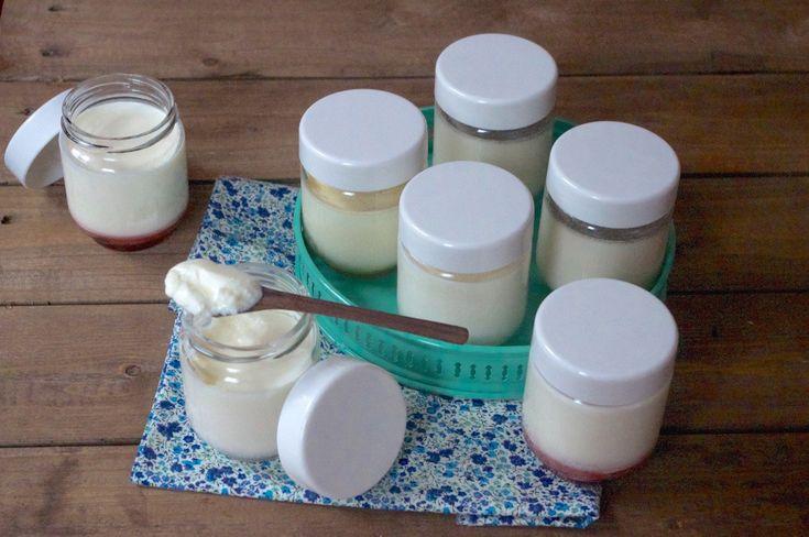Recette de base des yaourts maison | Recette | Recette ...