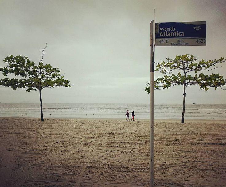 Cadê a avenida que tava aqui? (Gostei mais assim) #bc #balneariocamboriu