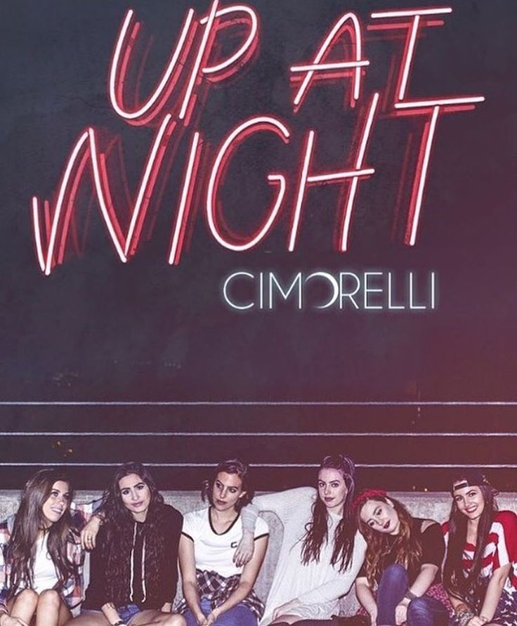 #Cimorelli #UpAtNight Album