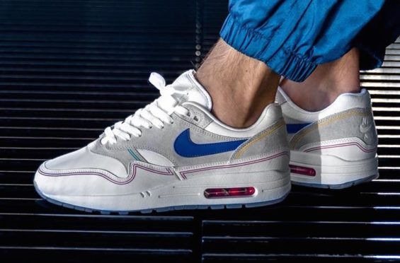645b26552a3db5 Nike Air Max 1 Centre Pompidou Day Releasing This Week The Nike Air Max 1  Centre